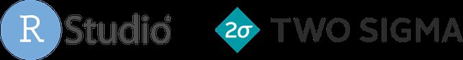Ursa Labs Partners RStudio Two Sigma Logos